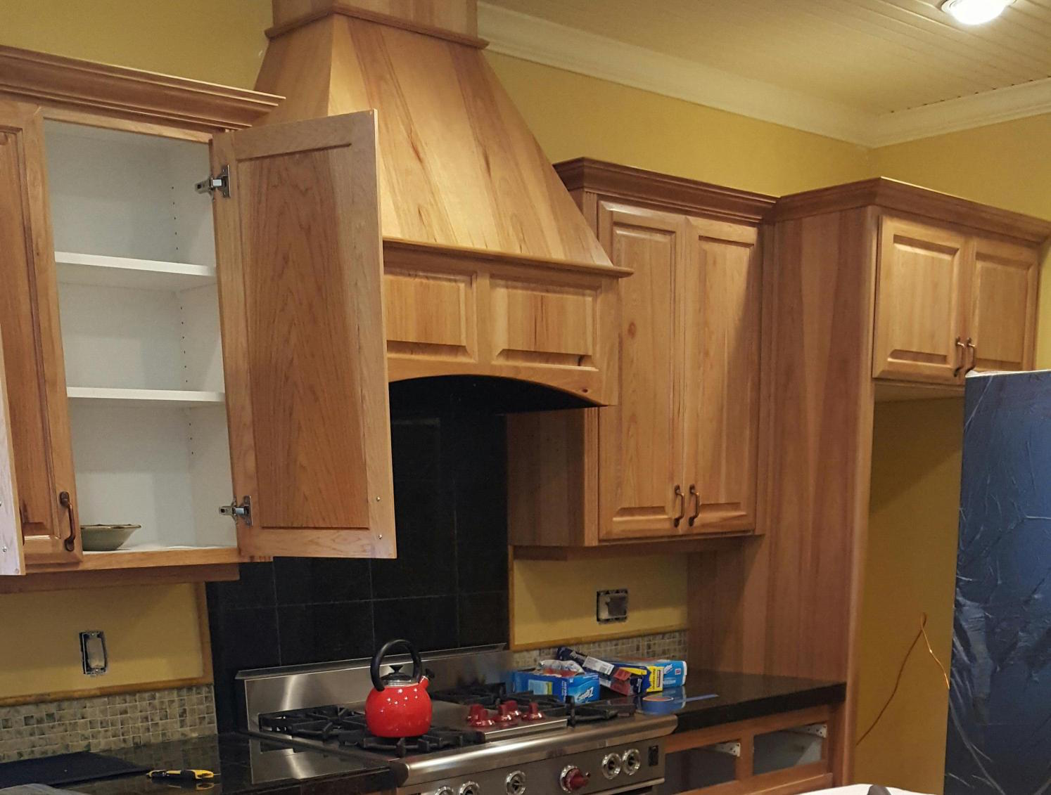 Refinishing Kitchen Cabinets and Trim by Toning in Bend, OR