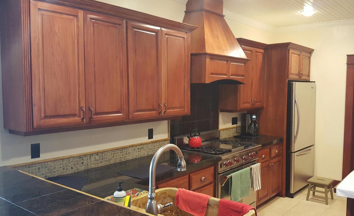 Refinishing Kitchen Cabinets and Trim by Toning in Bend, OR ...