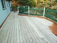 Bend Deck After Sanding - Webfoot Painting Deck Team