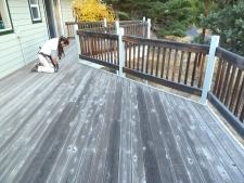Bend Deck Before Sanding - Webfoot Painting Deck Team