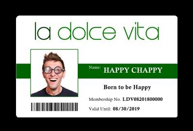 Membership ID front