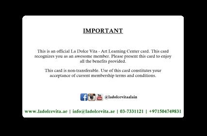 Membership ID back