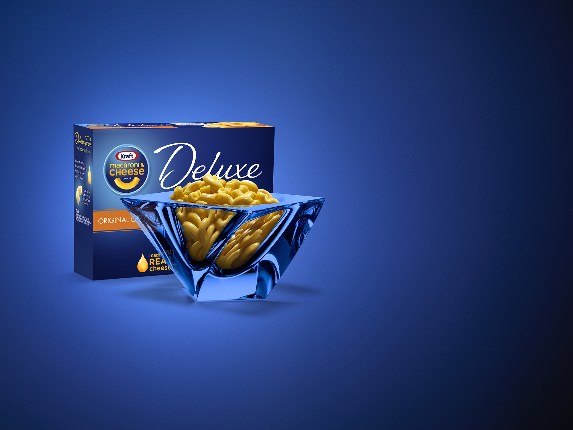 XYZ Kraft Macaroni and Cheese Deluxe