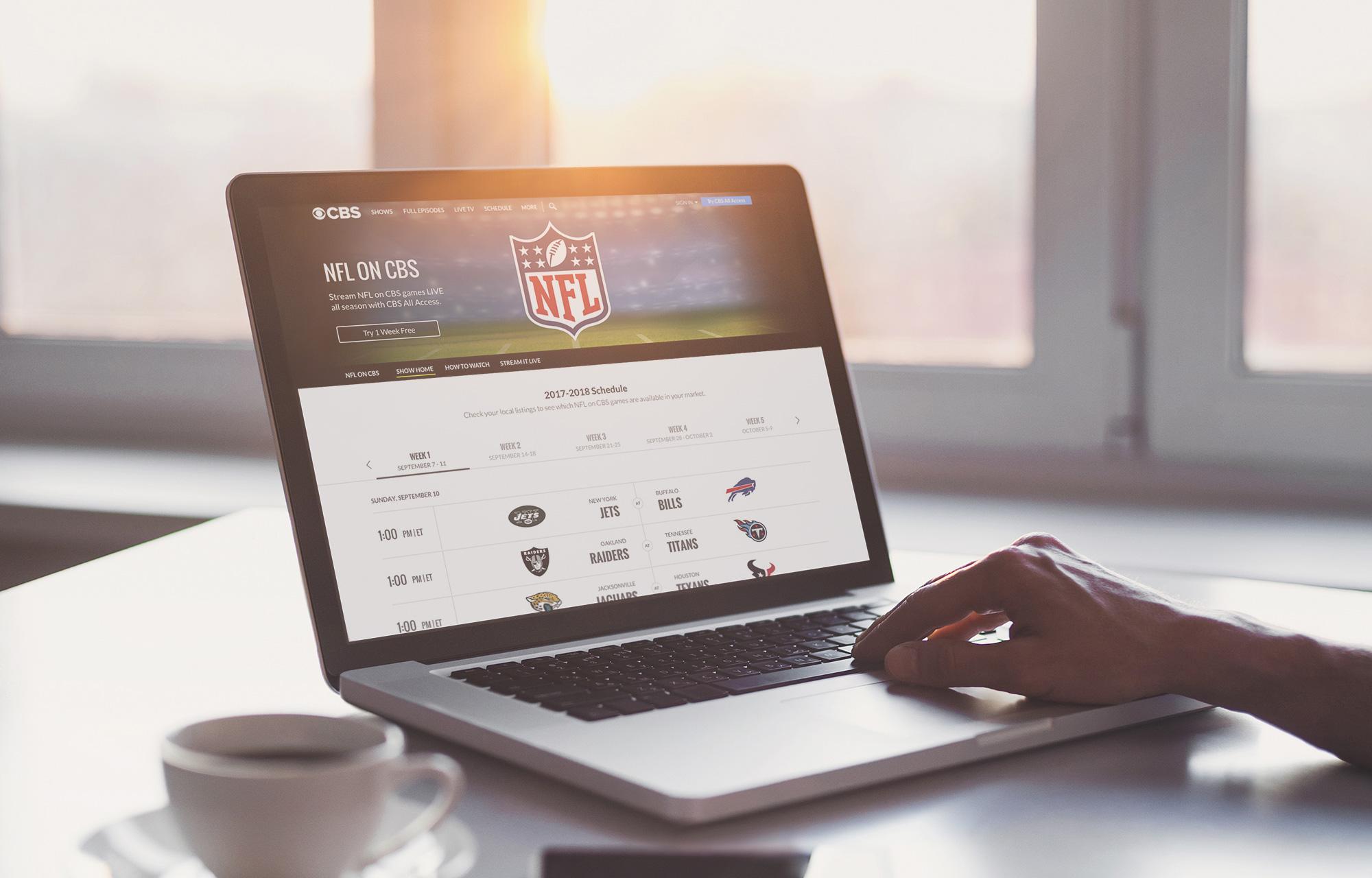 Amanda Fong - NFL Desktop Schedule