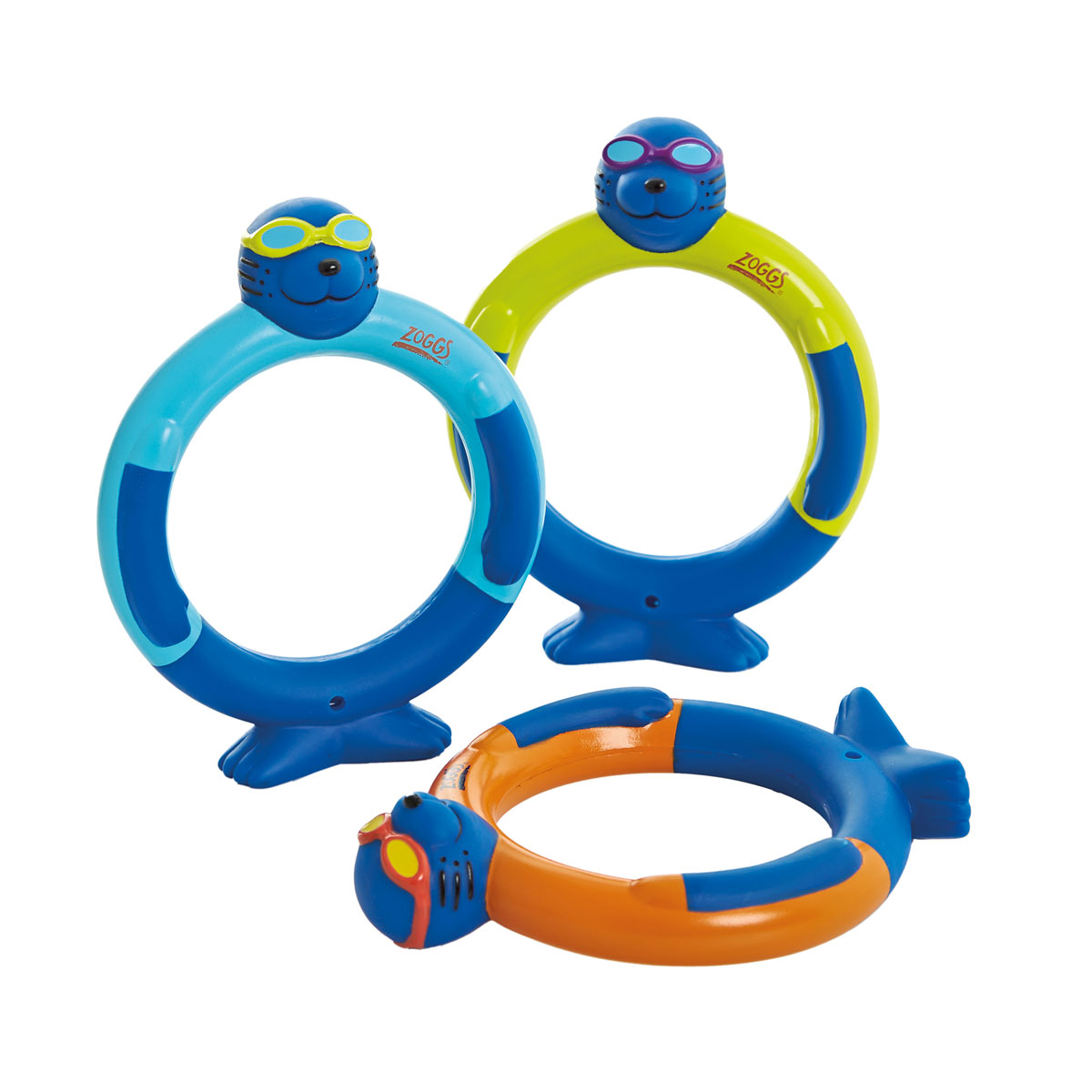 Zoggy Dive Rings Multi
