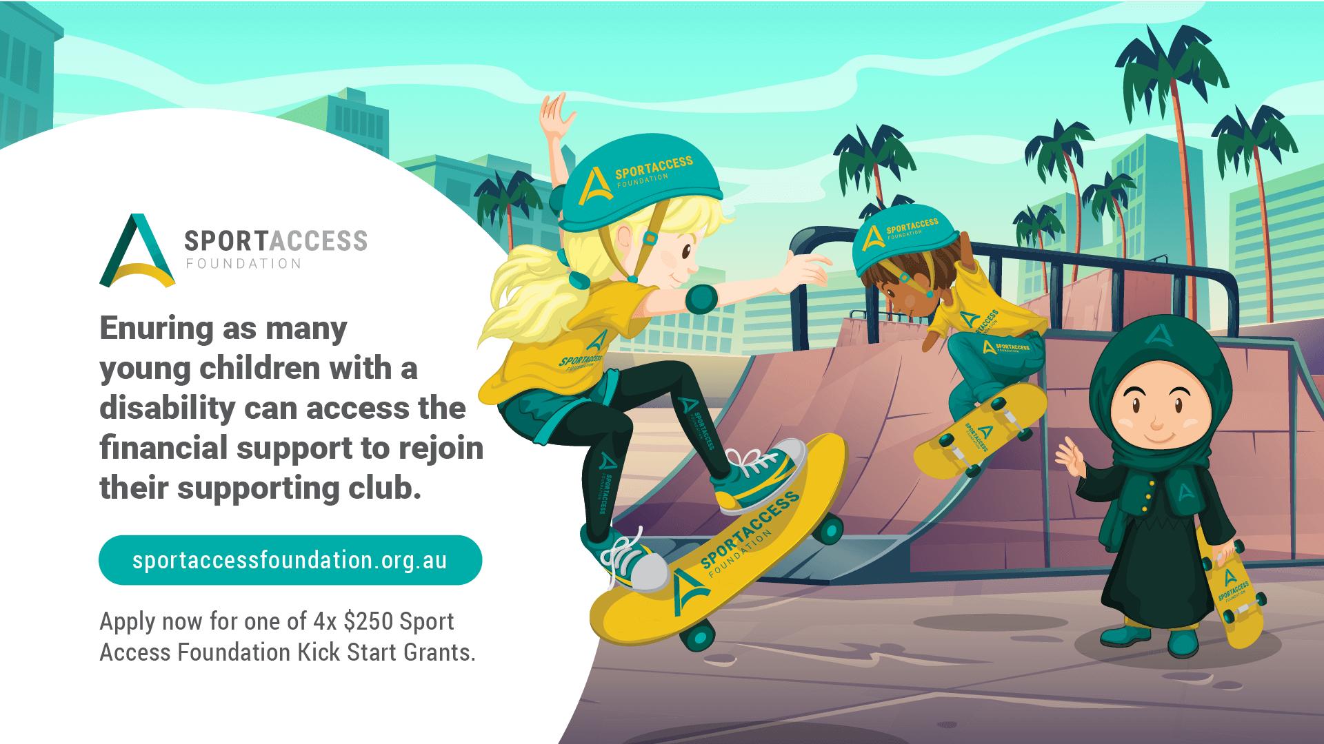Sport Access Foundation Kick Start Grant