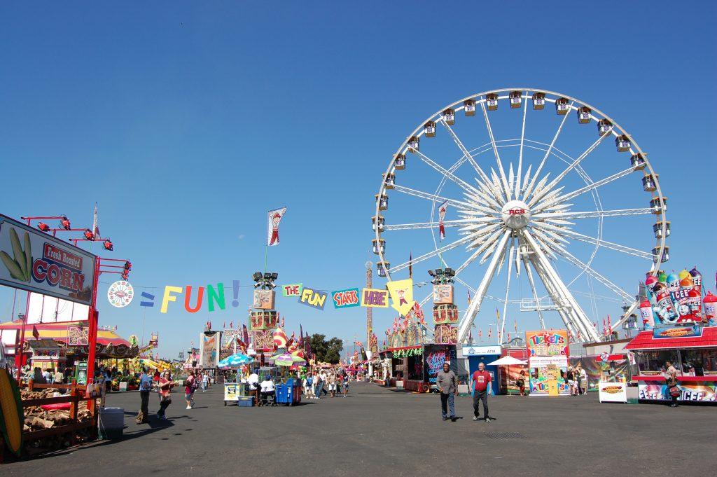 ferris wheel at a fair