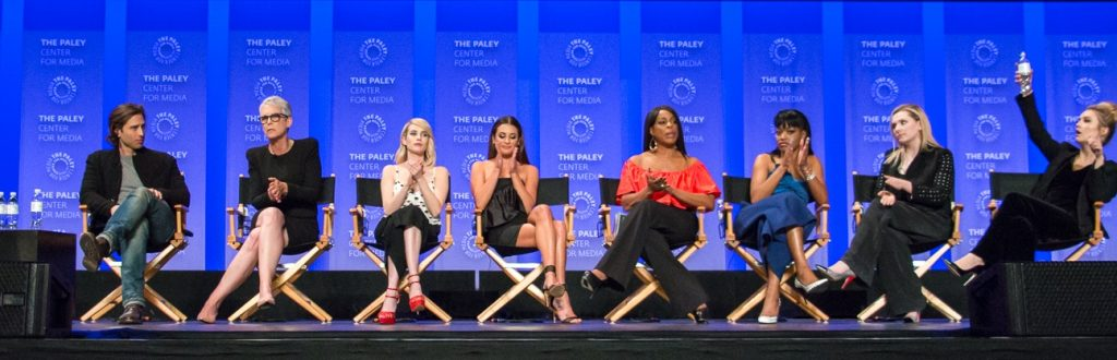speakers on stage at paleyfest