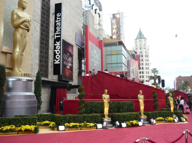 red carpet at the kodak theater