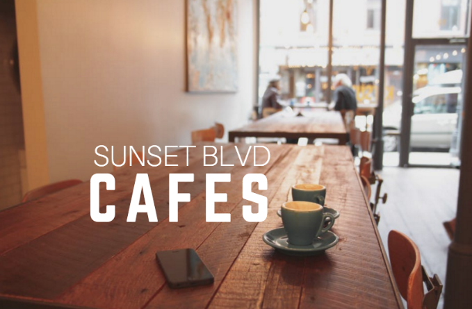 cafes on sunset boulevard
