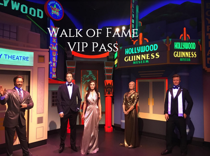 walk of fame vip pass