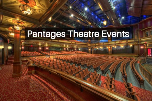 events at the pantages theatre