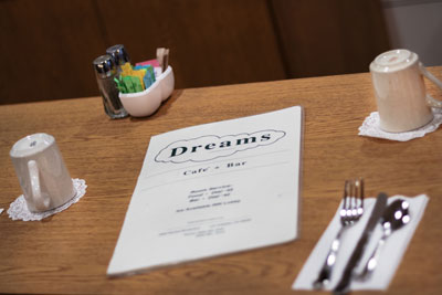 Dreams Cafe Menu