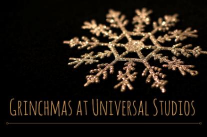 Universal Studios Grinchmas California