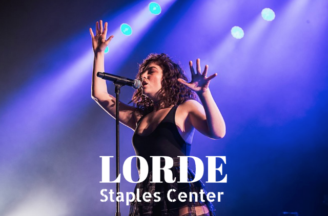 Lorde at staples center