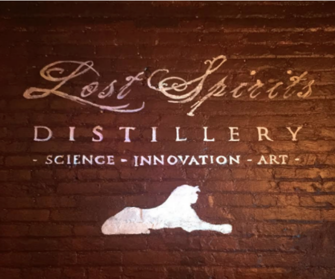 lost spirits distillery tour