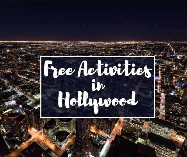 free activities in hollywood ca