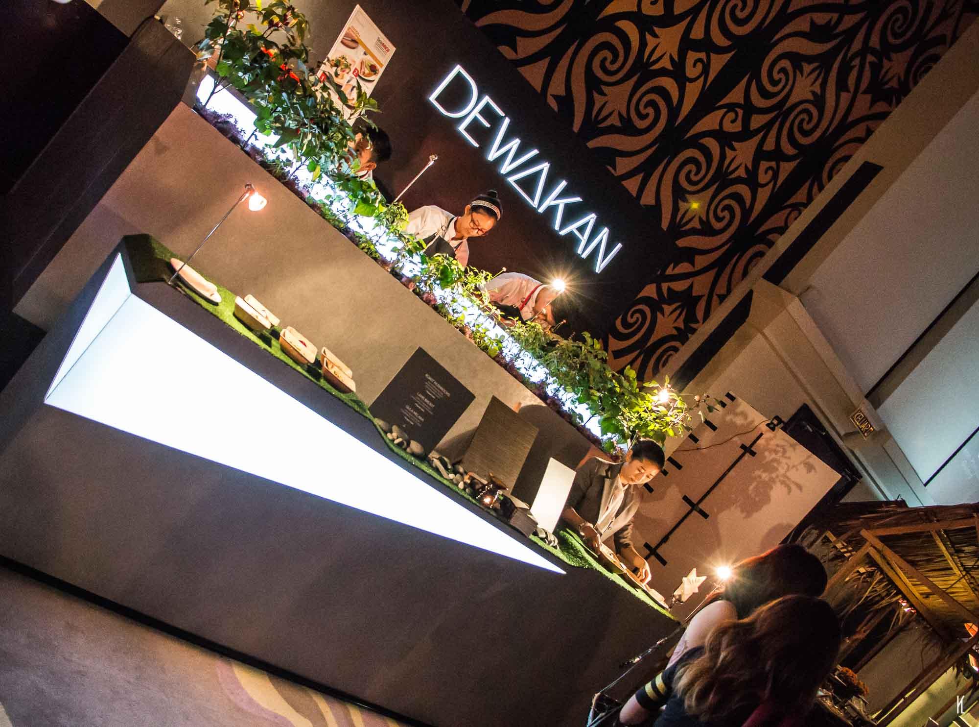 Booth Design for Dewakan at Taste MIGF (Malaysian International Gourmet Festival)