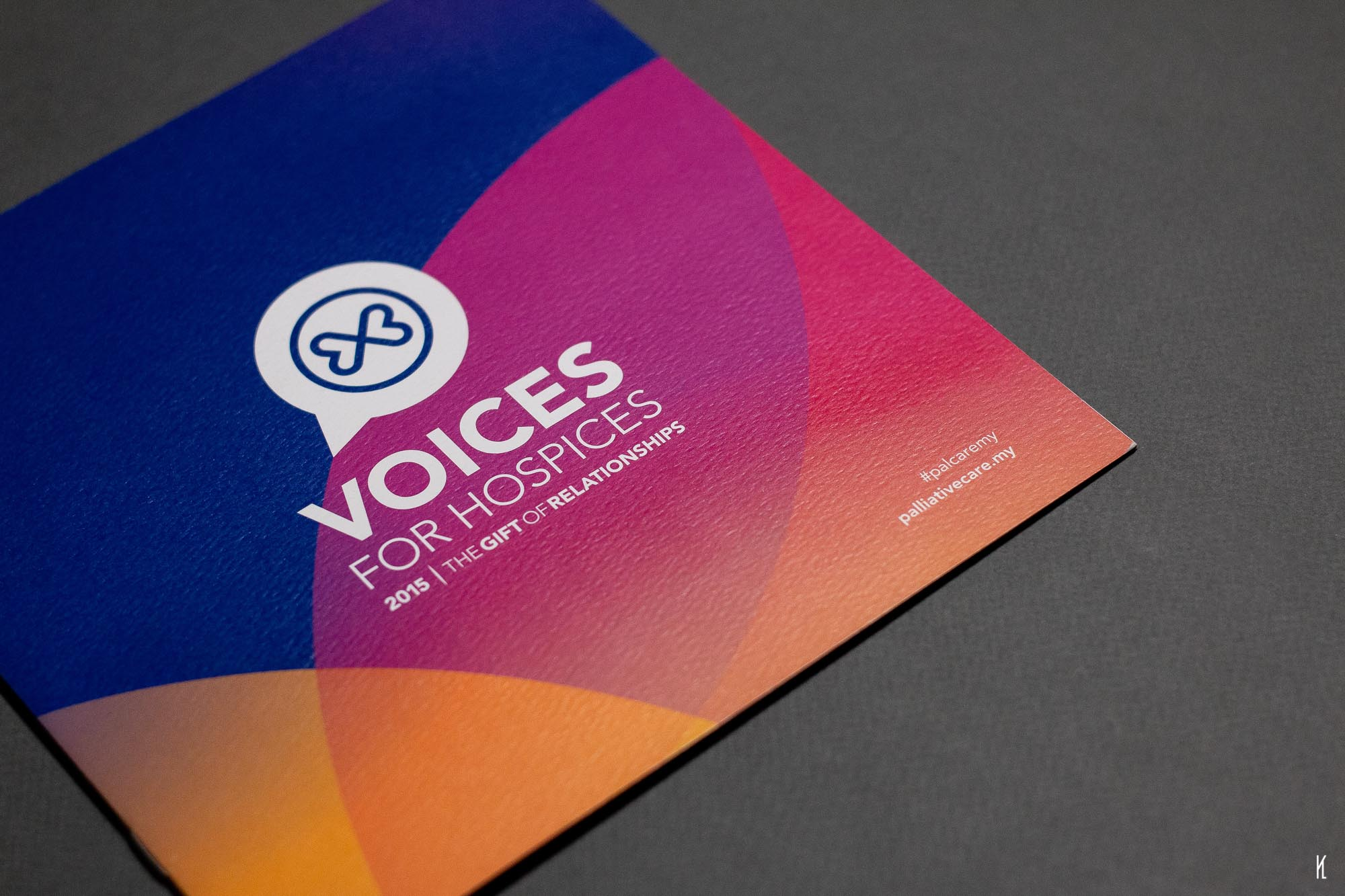 Concept, Art Direction and Design for Voices for Hospices
