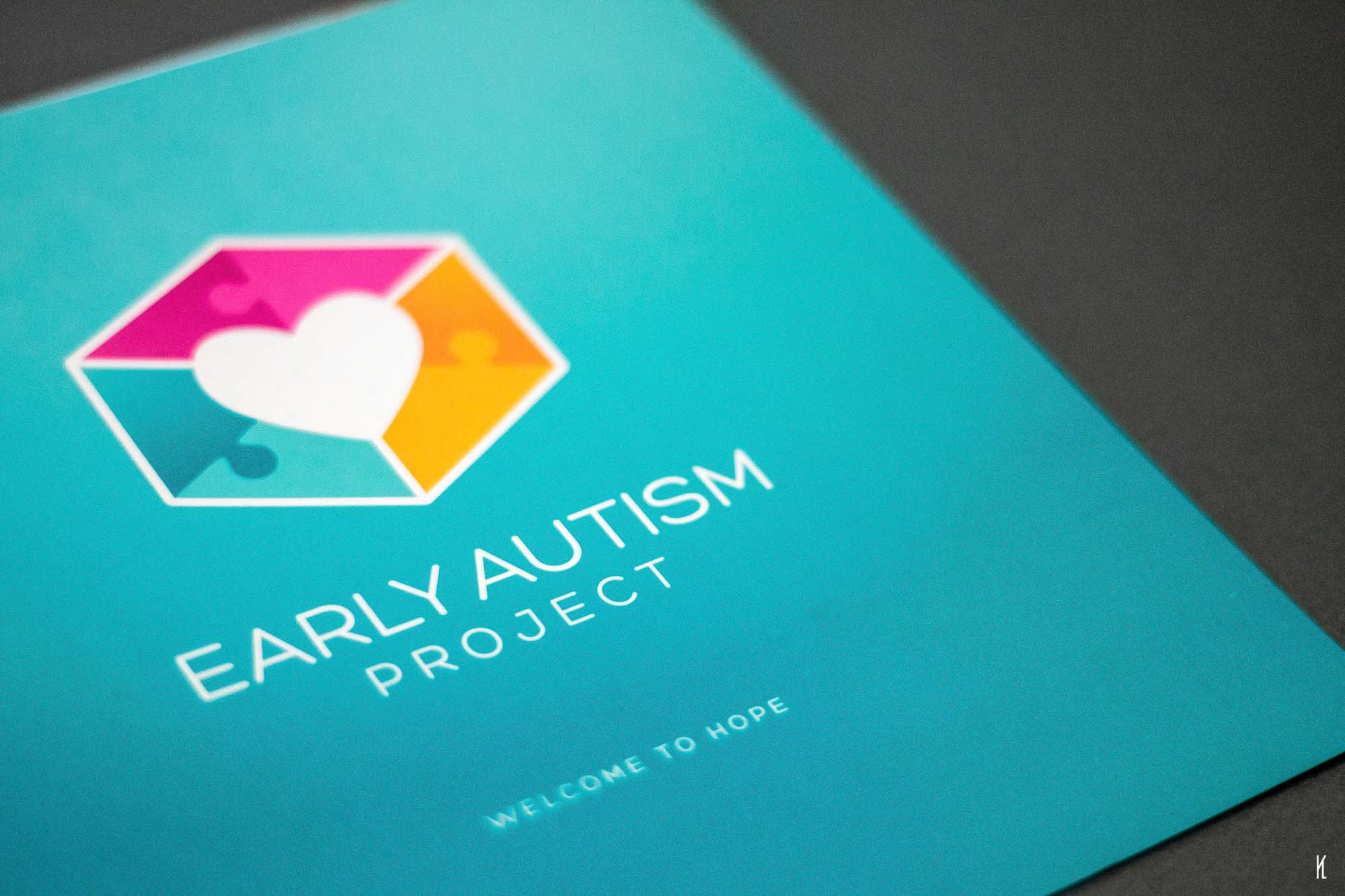 Logo and Identity Design for Early Autism Project Malaysia