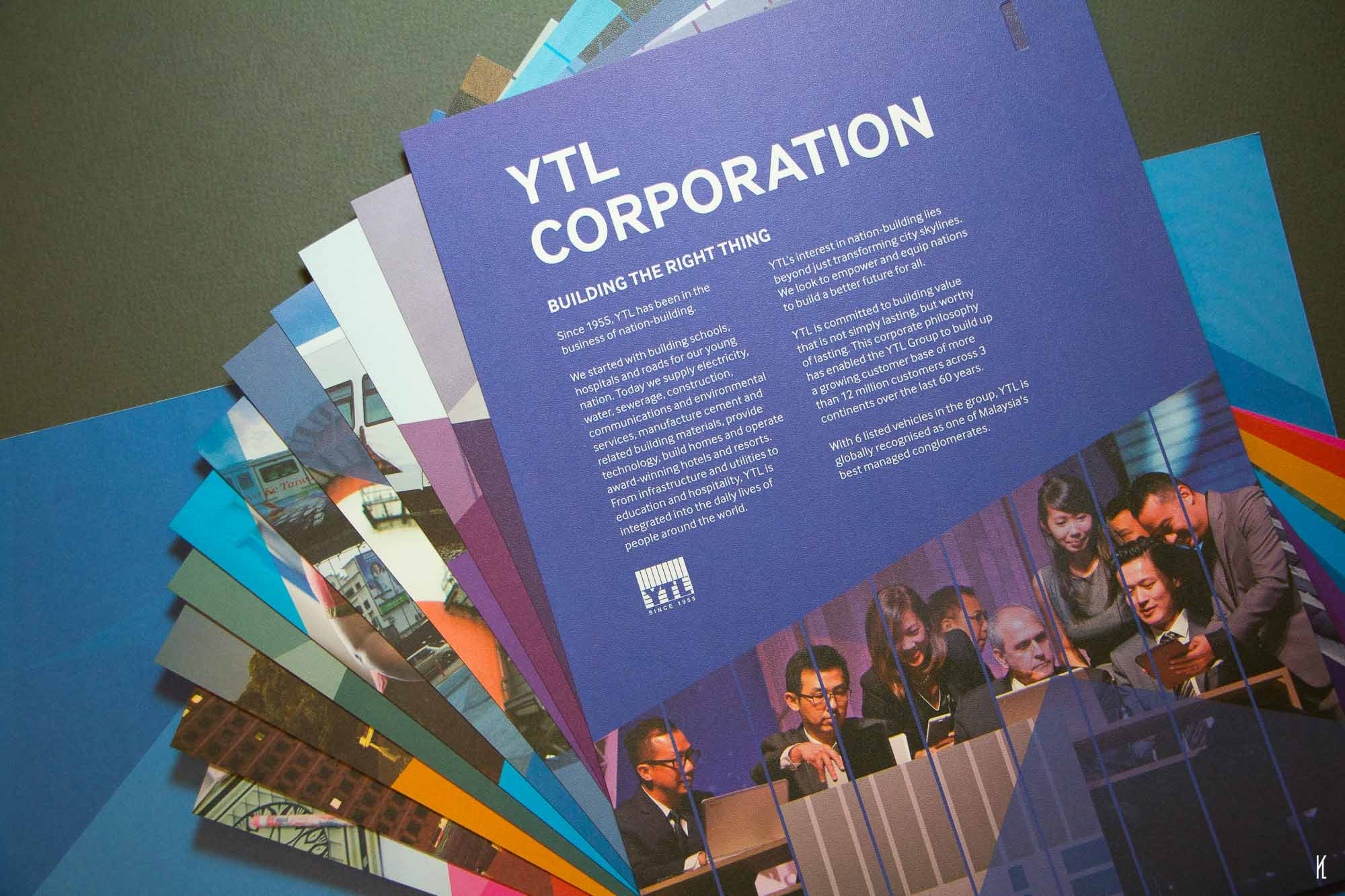 YTL Corporate Folders & Brochures