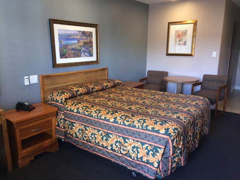 dunes inn wilshire single bed