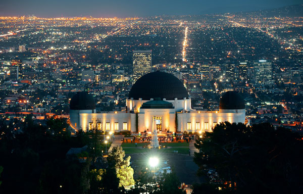 Dunes Inn Wilshire Griffith Observatory