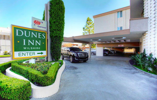 Dunes Inn Wilshire Enter East