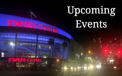 Staples Center upcoming events