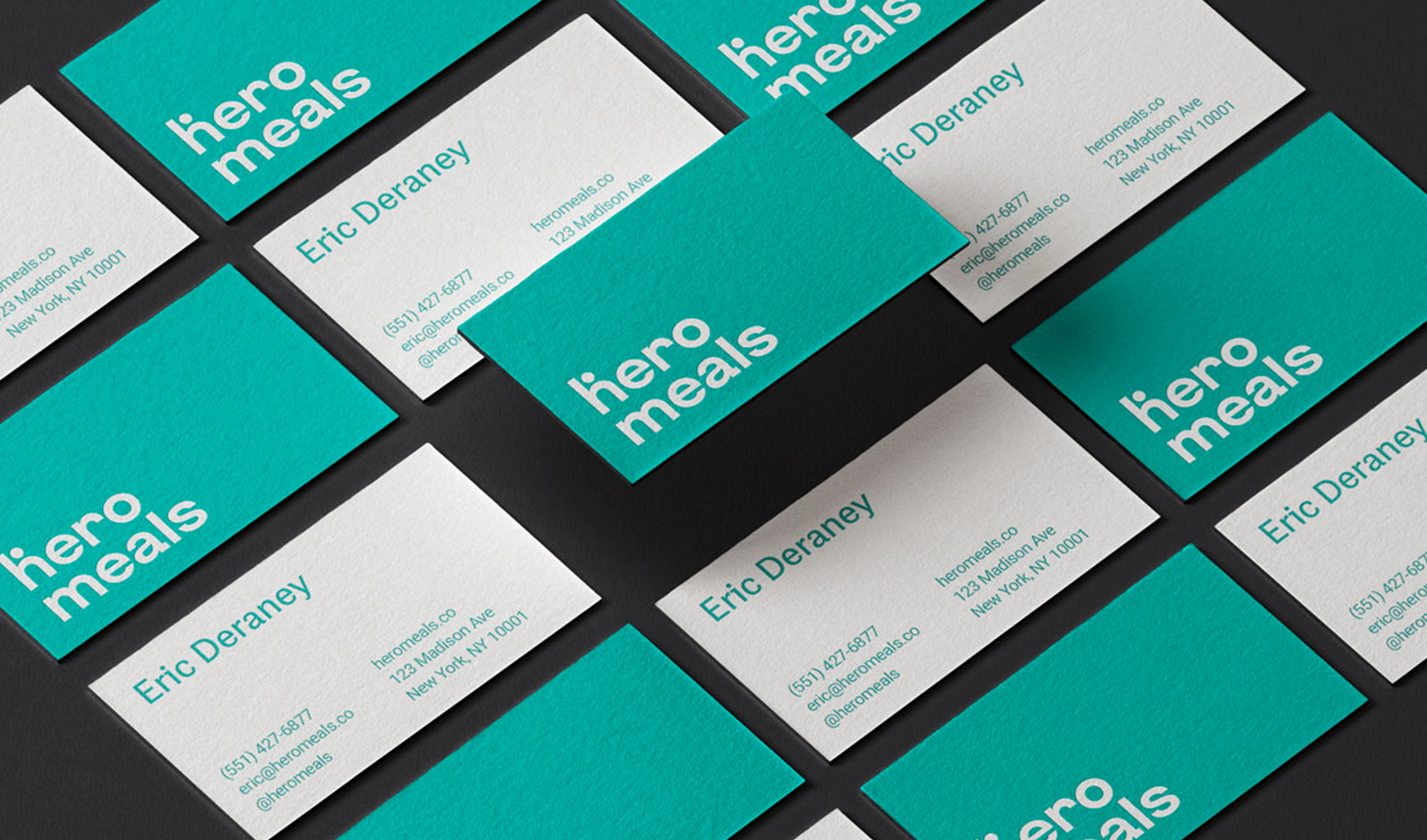 Business Cards for Hero Meals