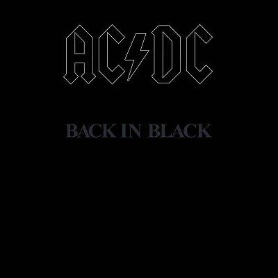 AC DC - Back in Black (vinyl record)