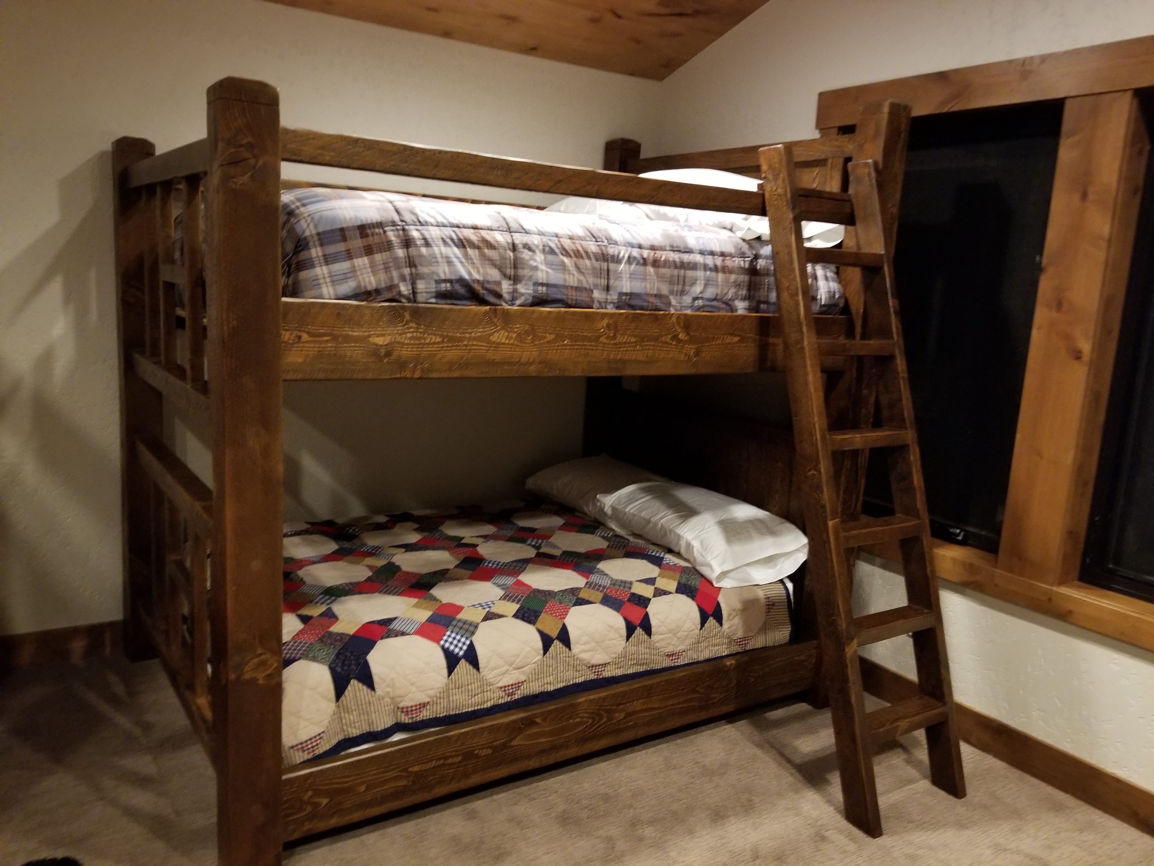 Northwest Handmade Furniture Timber Bunk Beds