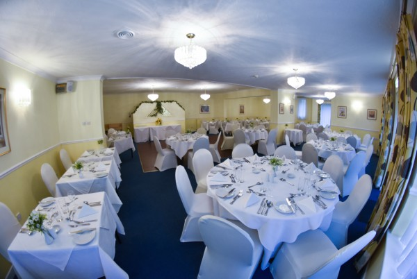 Lemon Tree function room setup for an event