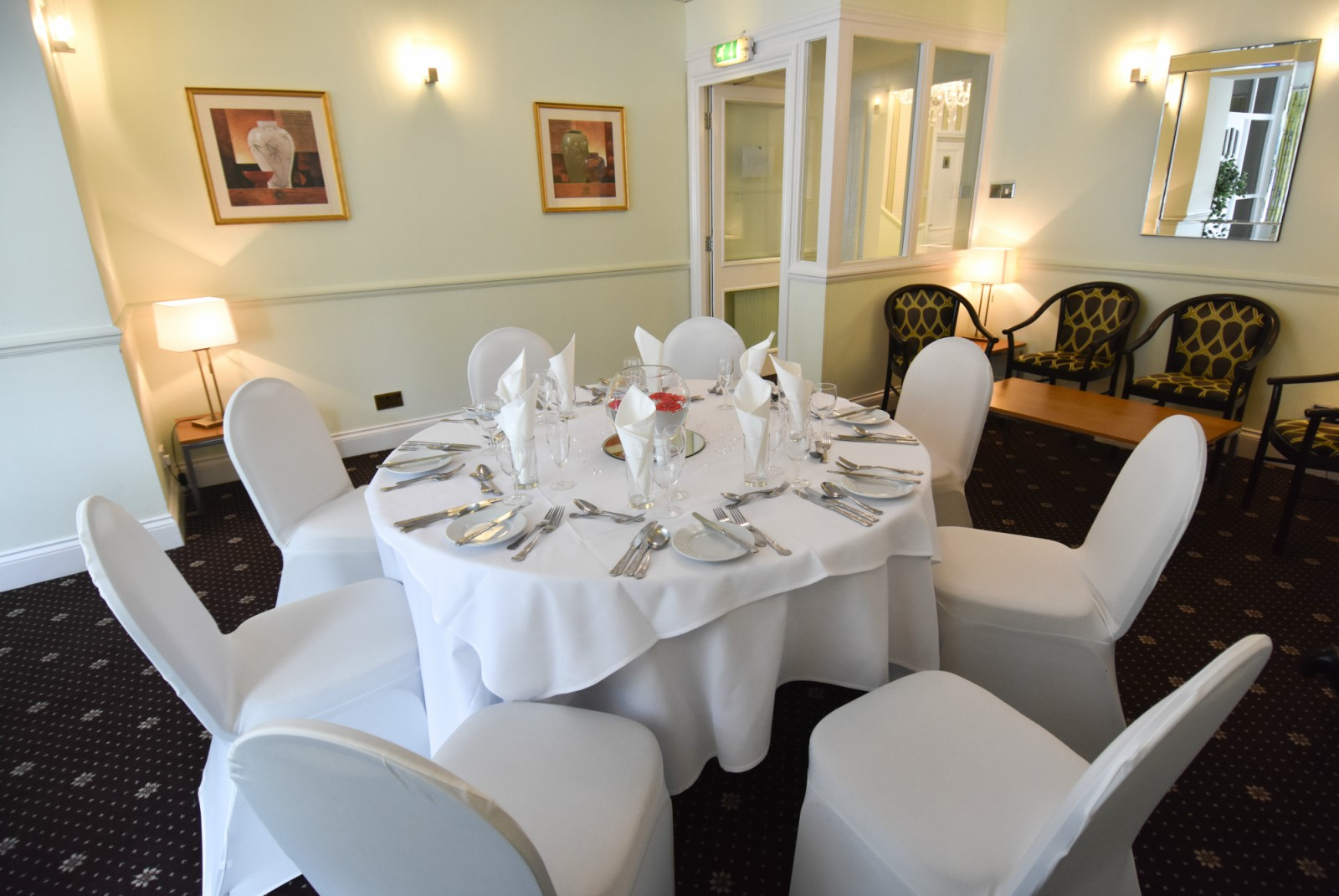 The Dorset room at The Mayfair Hotel