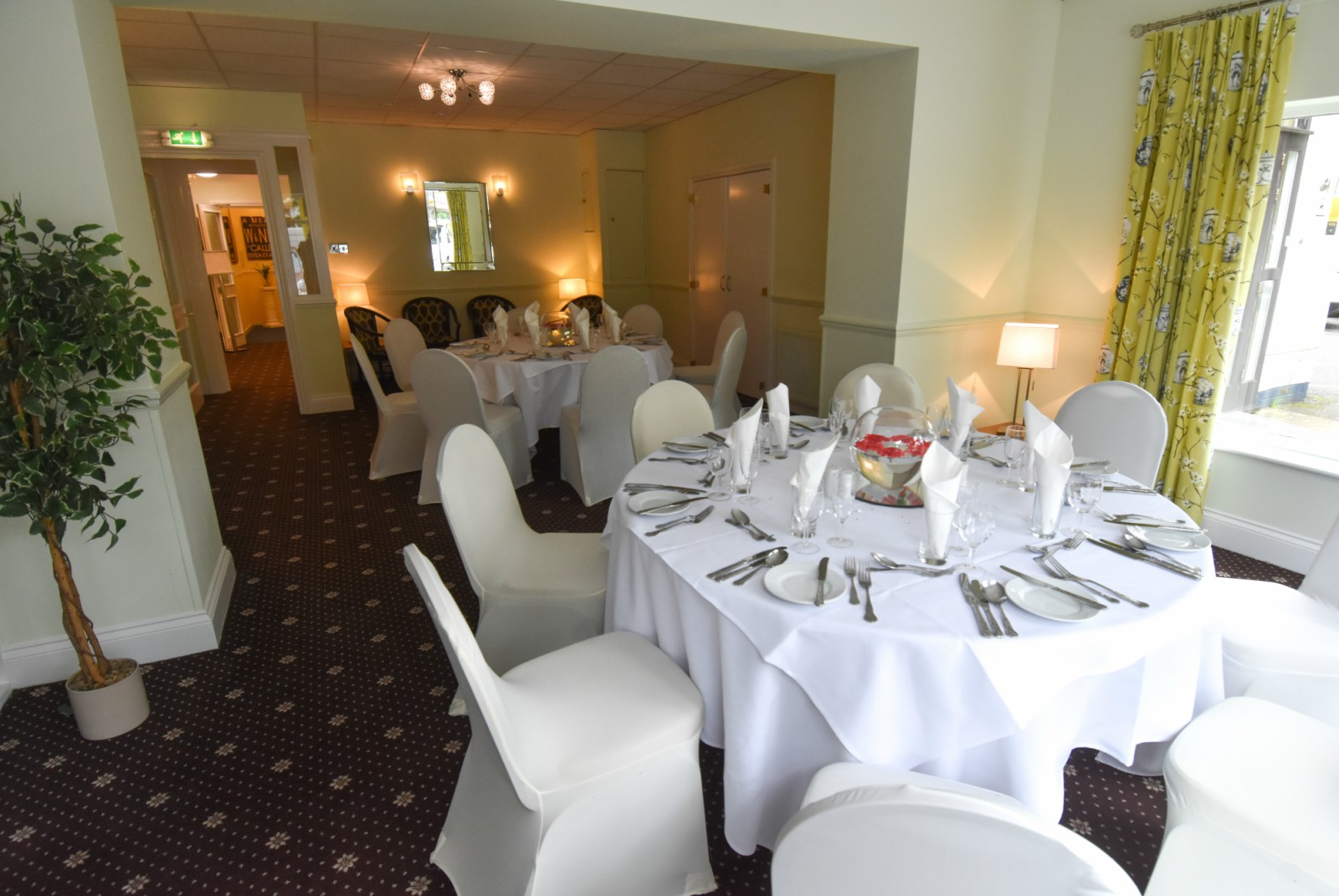 Event room at The Mayfair Hotel