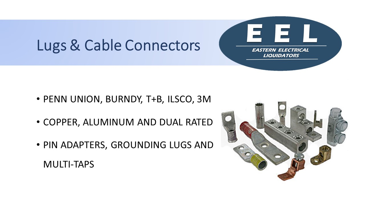 Lug & Cable Connectors (EEL)