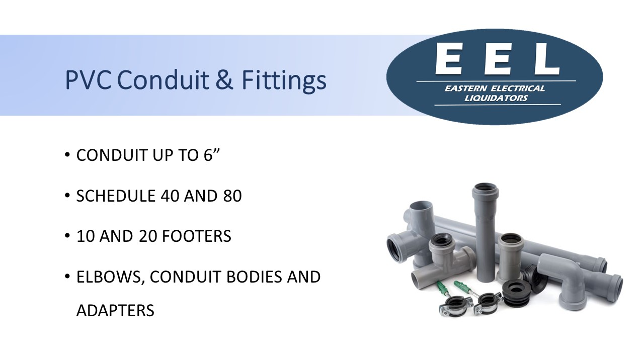 PVC Conduit & Fittings (EEL)