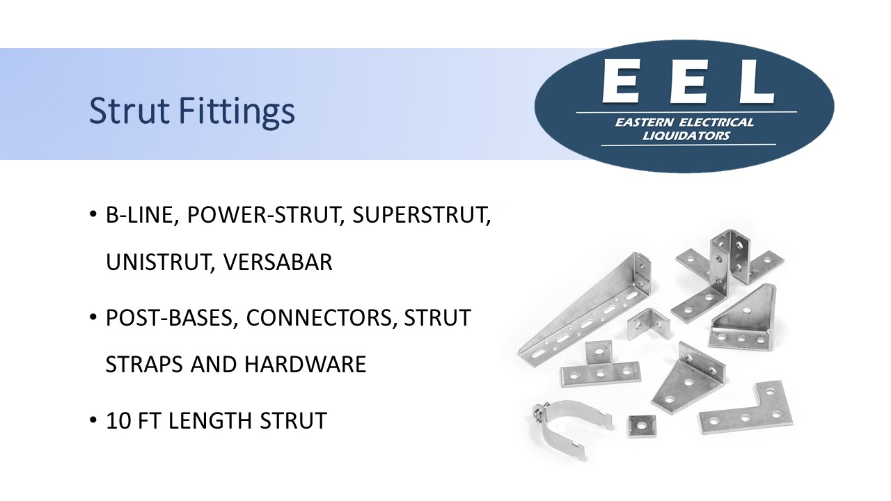 Strut Fittings (EEL)