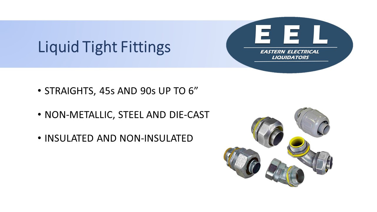 Liquid Tight Fittings (EEL)
