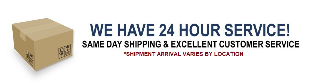 24 hour service and shipping promotion (EEL)