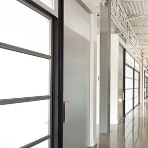 corporate building interior