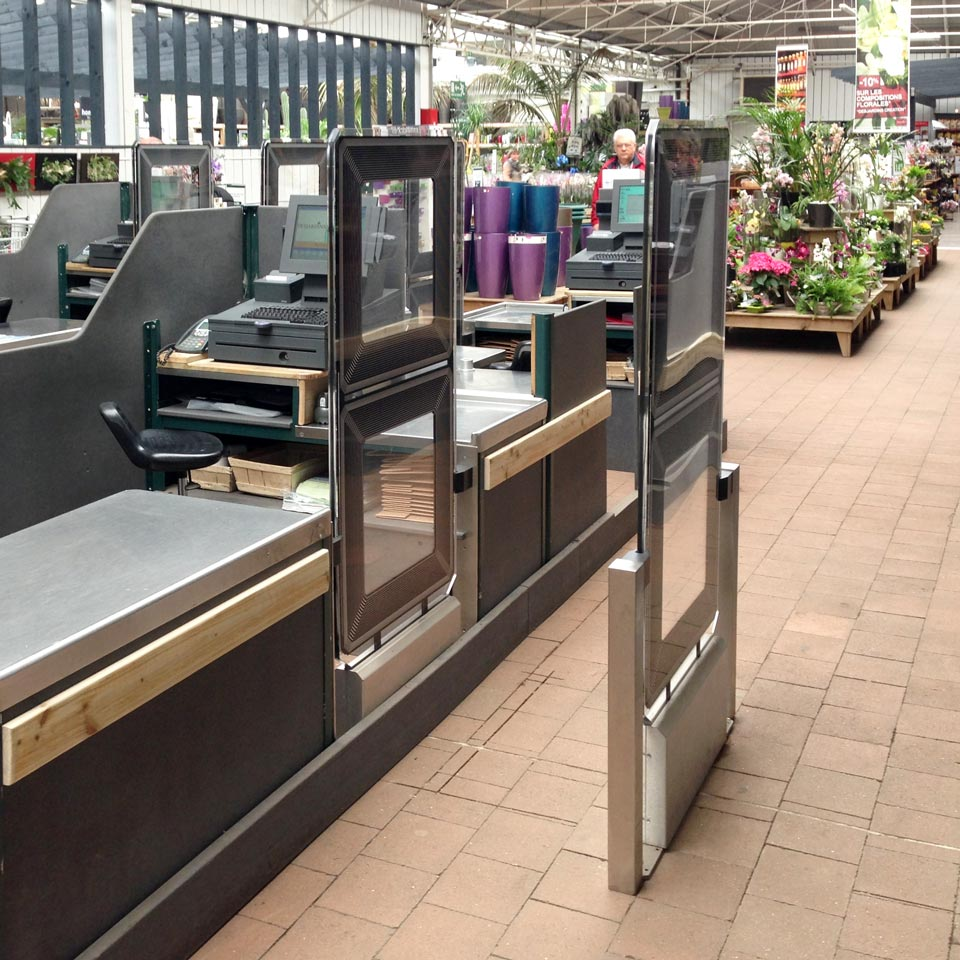 Tagit EM EAS Premium in hardware store Germany