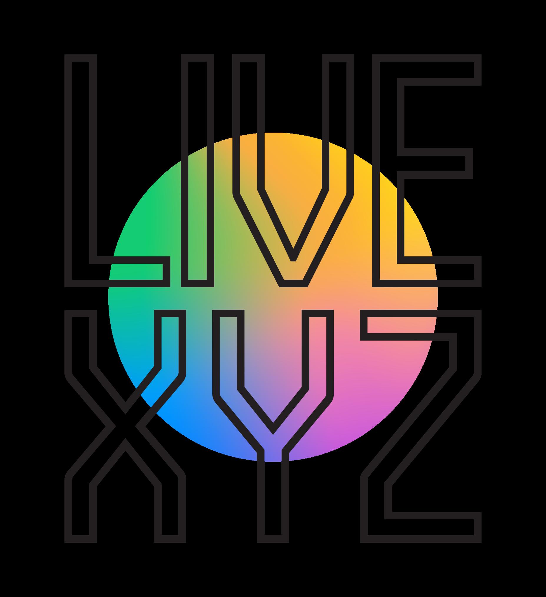 Live XYZ logo