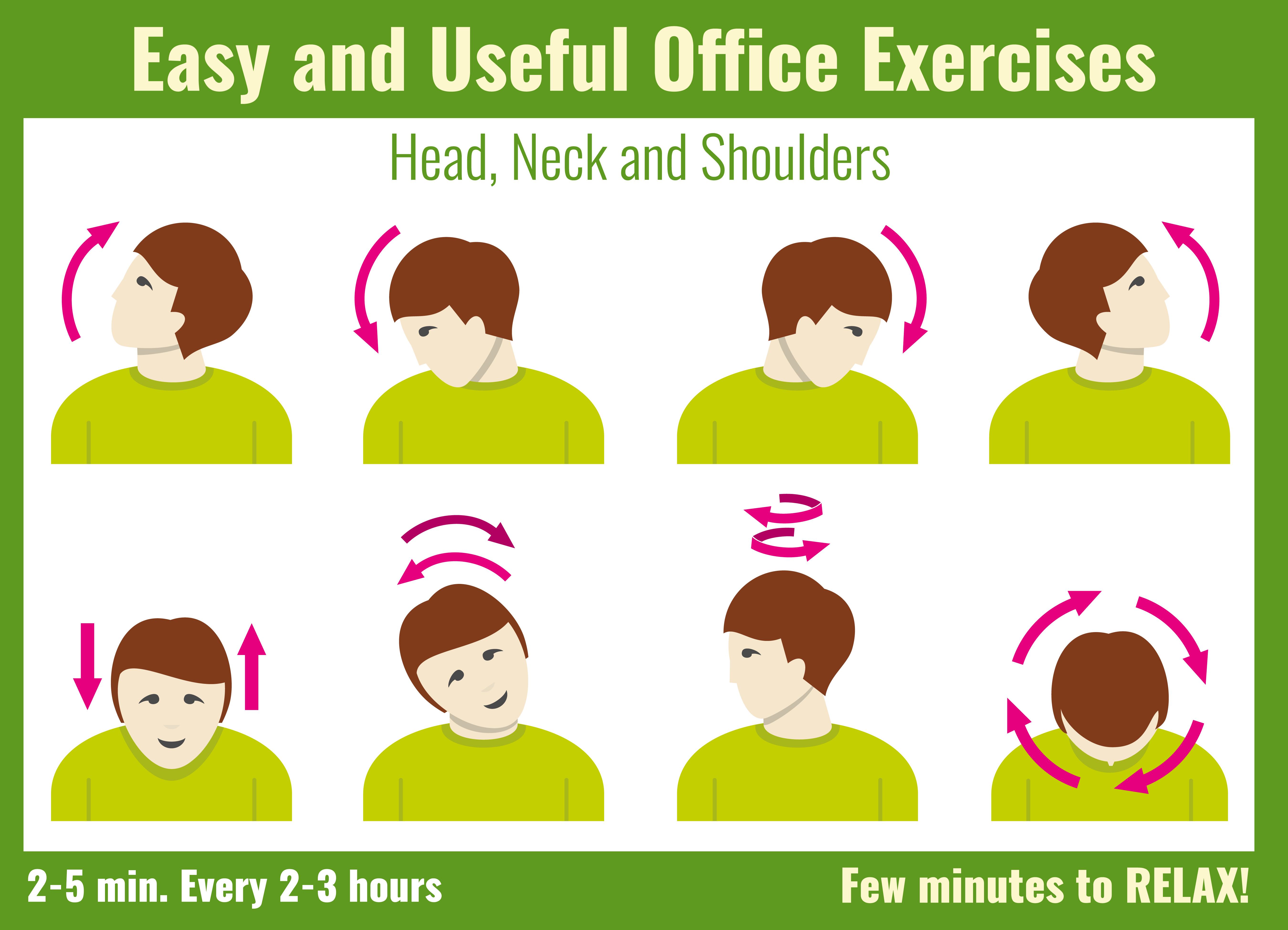 Useful head exercises