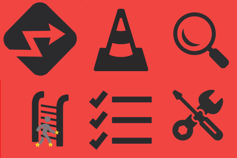ladder safety icons