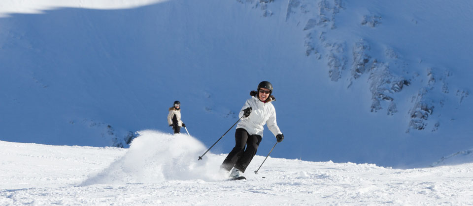 Ski guiding in Meribel France with British ski instructors