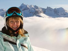 Ski guiding in Meribel, Courchevel, 3 Vallees France with British instructors