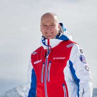 Martin Hemsley, ski instructor with MH2ski in Meribel, France