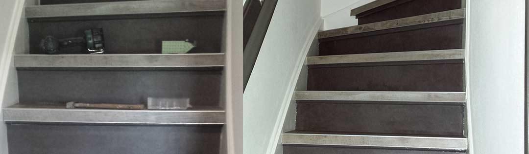 Zelfklevende PVC vloeren