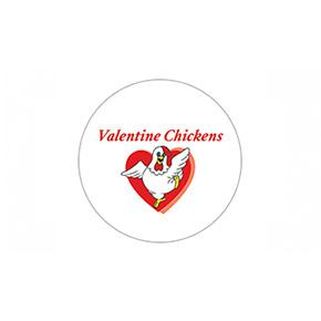 Valentine Chickens